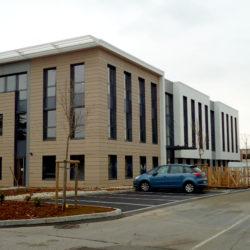 immeuble de bureaux niveau équivalent BBC - BET Fluides