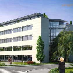 Construction de bureaux - mission BET Fluides conception et réalisation