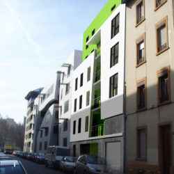 Construction d'un immeuble de logements - mission BET Fluides