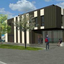 Construction d'un bâtiment tertiaire et de formation - Etude d'EXE