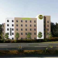 Construction d'un hôtel - mission Bureau d'Etudes Fluides et CSSI