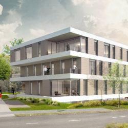 Construction de bureaux - Mission de BET Fluides, Economie, VRD